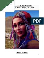 De Coya Indianen Van de Atacama in Chili