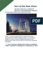 10 Wonders of the New China