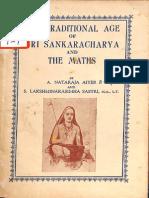 The Tradition Age of Sri Sankaracharya And The Maths - A. Nataraja Aiyer.pdf