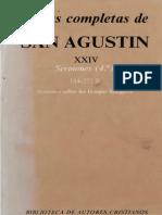 Agustin 24 Sermones 4 184 a 272