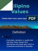 Filipino Values System
