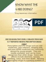 Drug Awareness 1 1