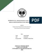 Penerapan Plc (Programmable Logic Controller) Sebagai Sistem