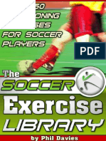 Soccer Exercise Library