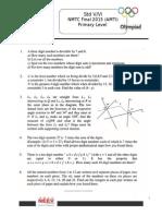 NMTC Final Paper 2014 Std5 6