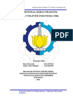 Proposal Kp Unilever
