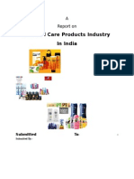 Personal Care Industry Report - Saksham