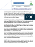 Lupin and Boehringer Ingelheim Announce Strategic Co-marketing Agreement [Company Update]