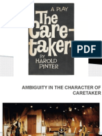 Ambiguity in the Character of Caretaker-2