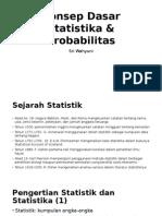 1-Konsep Dasar Statistika & Probabilitas