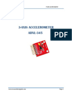 3 Axis Accelorometer ADXL-345