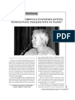 Revista Agroecologia Ano3 Num1 Parte03 Entrevista