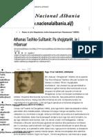 Athanas Tashko-Sulltanit_ Pa Shqiptarët, Je i Mbaruar - Fuqia e Ndryshimit Mediatik, Zëri i Atdheut Dhe i Patriotizmit Shqiptar Nacional Albania