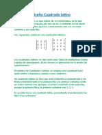 Diseño cuadrado latino,Metodo de Tukey,Metodo de Duncan
