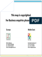 Map of Dubai - New