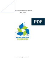 WER Buying a Wind Turbine