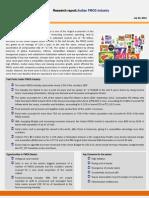 Fmcg Industry Report