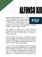 Alfonso XIII de Borbón