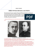 Directivele de Baza Ale NKVD
