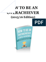 [PDF] [Final] How to Be an Overachiever