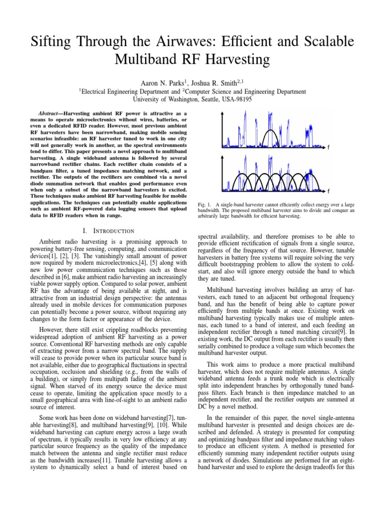Sifting Through the Airwaves: Efficient and Scalable Multiband RF ...