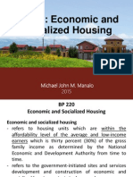 Socialized and Economic Housing