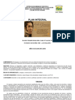 Plan Integran Nuevo 2015 4to d San Isidro