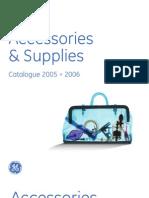 Monouso Ge Healthcare, Catalogo prodotti GE Healthcare