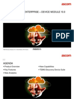 TEMS Discovery Enterprise 10.0 - Device Module - Commercial Presentation