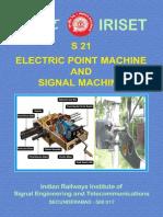 s21 Point Mc & Signal Machine