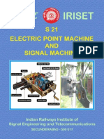 s21 Point Mc & Signal Machine