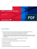 BofA Q3 2015 Presentation