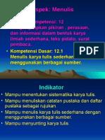12.1Menulis Karya Ilmiah