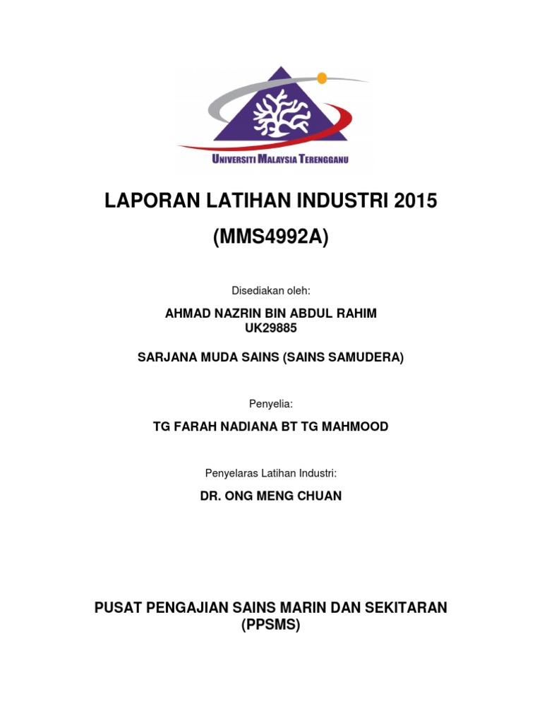 Report Latihan Industri