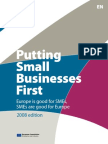 Putting small businesses first