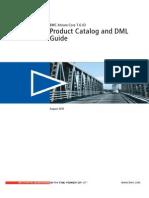 BMC Atrium Core 7.6.03 Product Catalog and DML Guide