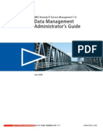 BMC Remedy IT Service Management 7.0 Data Management Administrator's Guide