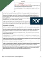 FDI planning