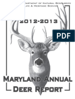 Md Annual Deer Report12-13