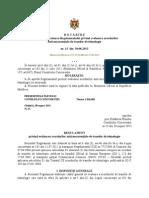 Regulamentul Privind Evaluarea Acordurilor de Transfer de Tehnologie Aprobat Prin Hotărîrea Consiliului Concurenţei Nr.15 Din 30 August 2013