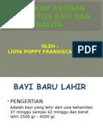 Lingkup Asuhan Neonatus Bayi Dan Balita1