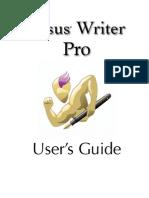 Nisus Writer Pro User Guide