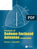 Analysis of Radome-Enclosed Antennas