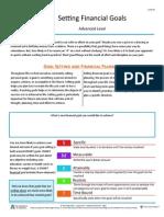 setting financial goals info sheet 2 1 4 f1