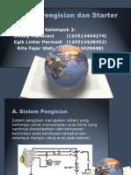 Sistem Pengisian Dan Starter