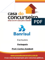 Apostila Banrisul 2015 Portugues Zambeli