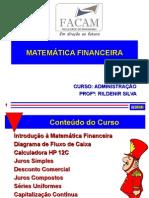 Matemática Financeira_slide Bruni