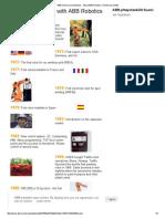 ABB Historical Milestones