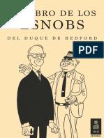 El libro de los esnobs del duque de Bedford (Kailas Editorial)