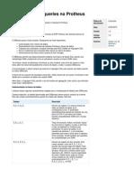 Desenvolvendo Queries No Protheus - TDN